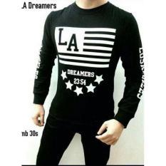 Kaos Baju Longsleeve Lengan Panjang Cowok Fashion Pria Distro - 75B73D