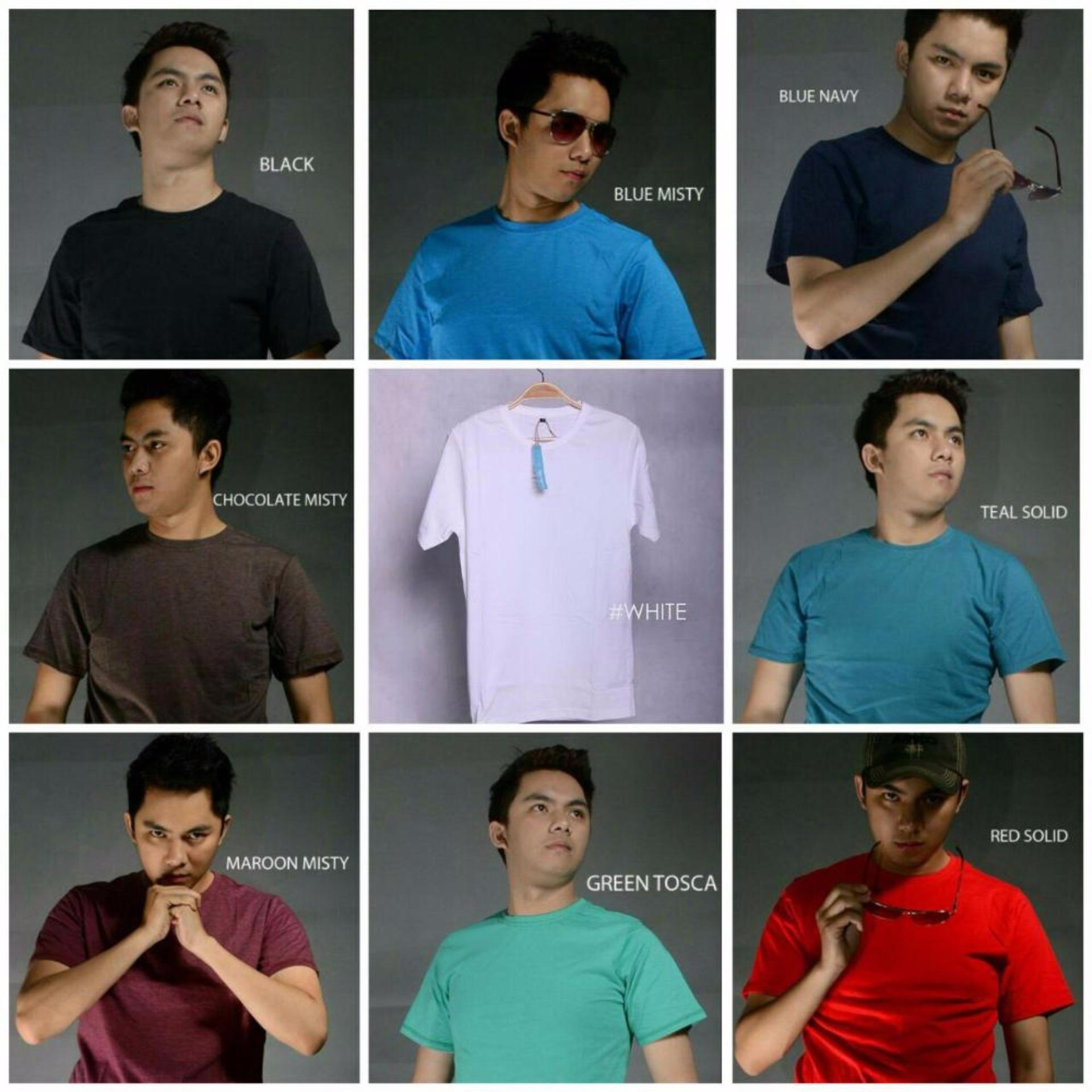 Flash Sale Kaos Polos Combed 30s Import Harga Penawaran Teal Solid