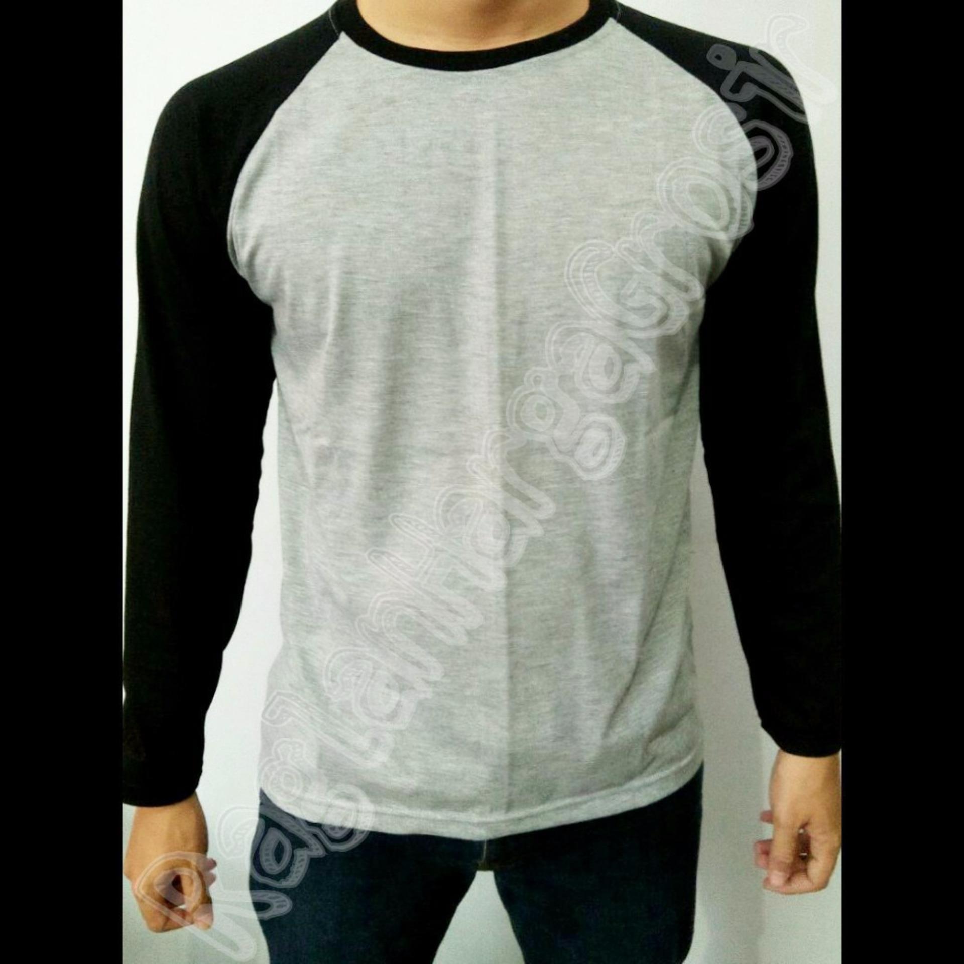 Bahan 100 Cotton Combed 30s Soft Nyaman Dan T Grosis Kaos Distro Premium Plastisol Bandung Raglan Lengan Panjang Unisex