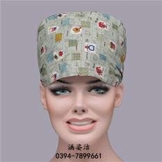 Kapas ruang operasi perawat suhu tinggi topi topi (Topi tunggal)