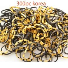 karet ikat rambut anak korea isi 300pcs Mosculine