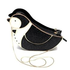 Kate Spade Clifton Lane Penguin Crossbody (Black)