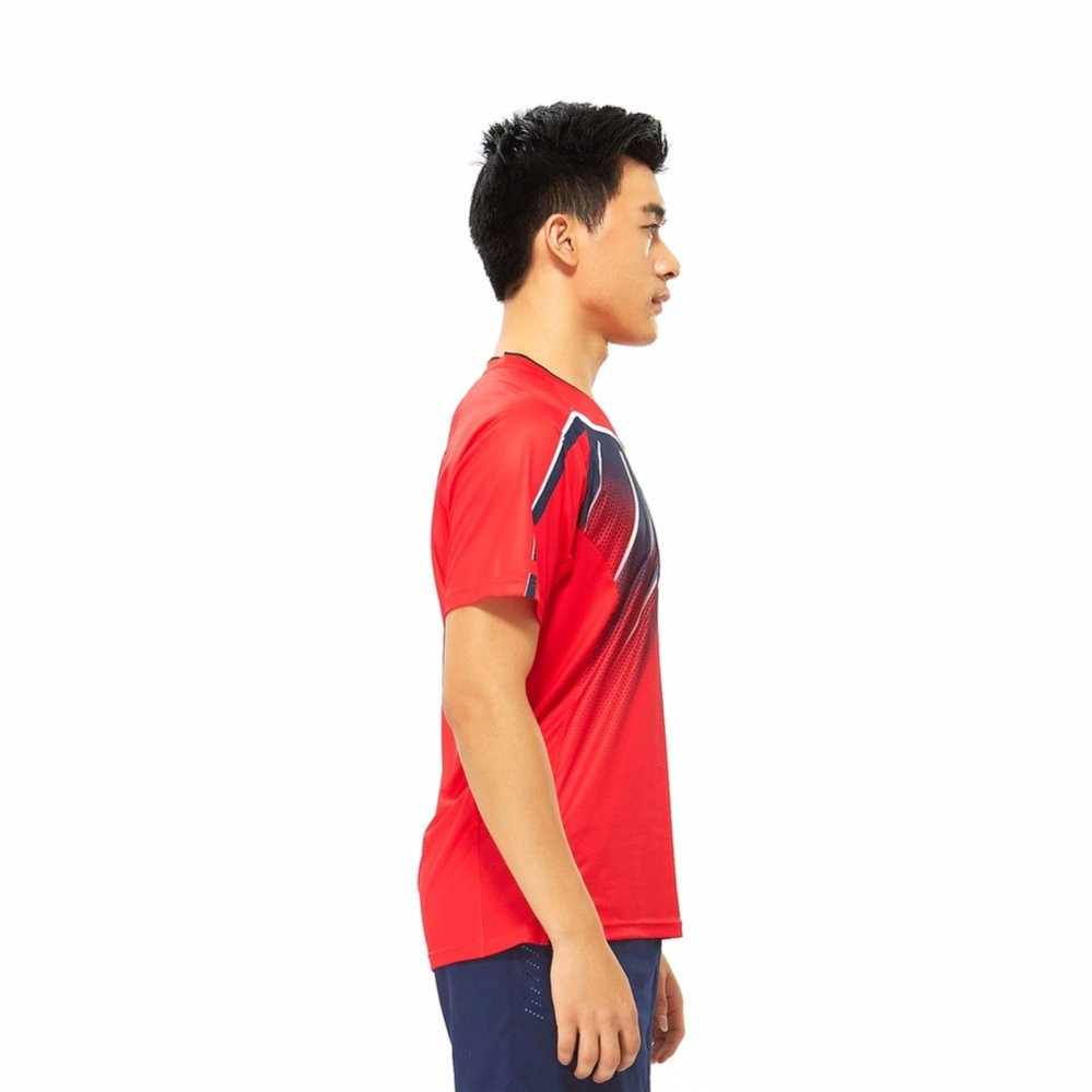 Fitur Xtep Men Workout T Shirts Elastic Breathable Fitness Shirts Source · Kawasaki ST 171021 Breathable