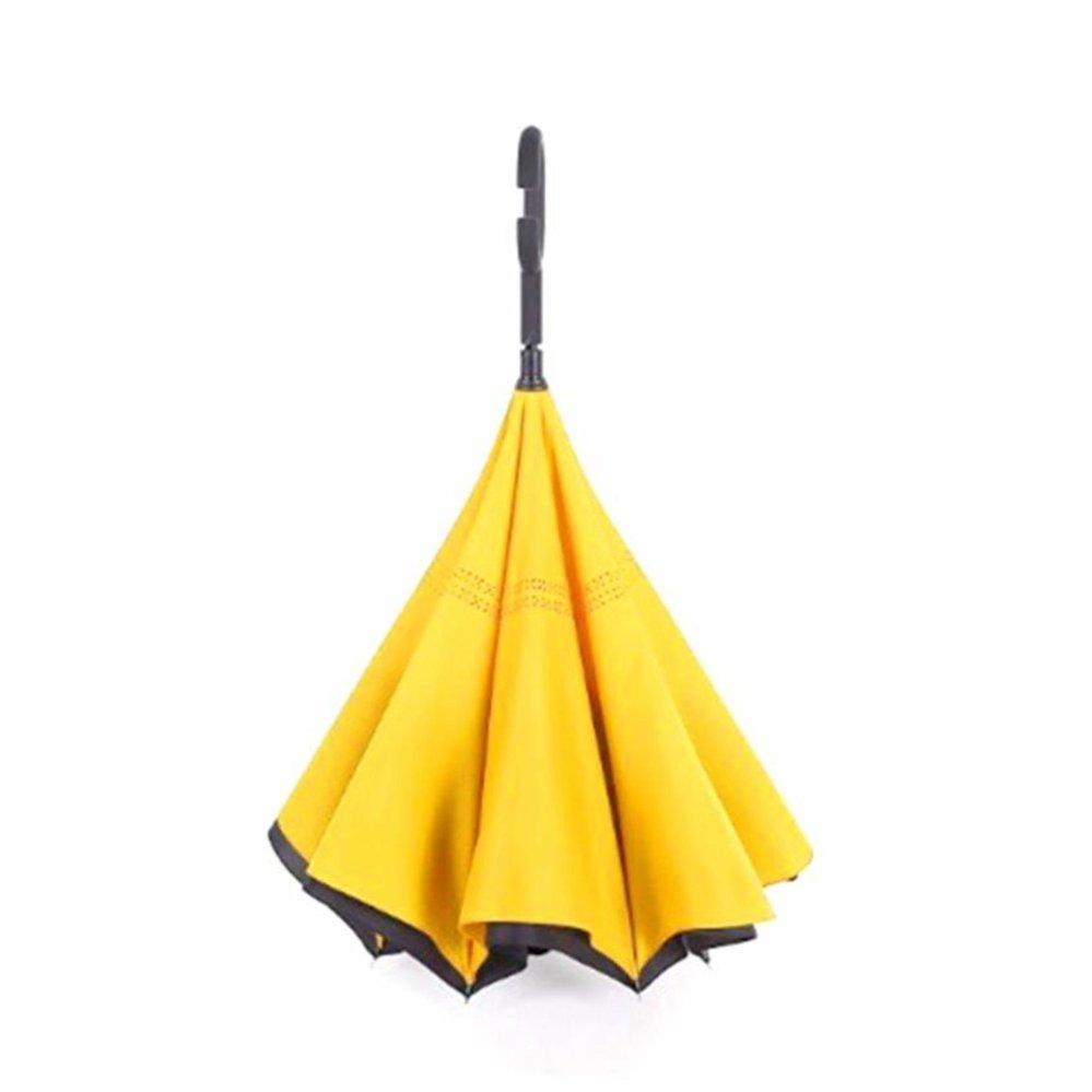 ... Kazbrella Payung Terbalik / Reverse Umbrella Gagang C - KUNING ...