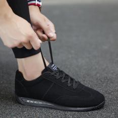 Rp 488500 Kebugaran Hitam Laki Musim Panas Remaja Kanvas Kasual Sepatu Cortez Nike