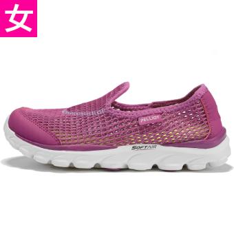 Kebugaran Luar Rumah Non-slip Ringan Sepatu Yang Kuat Sepatu ([Perempuan] ungu)