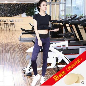 Kebugaran Manis Pagi Joging Legging Pakaian Yoga Pakaian Yoga Pakaian Yoga (K1015 pendek hitam + D1001 Zi Hui untuk mengirim XD) (K1015 pendek hitam + D1001 Zi Hui untuk mengirim XD)