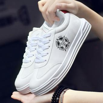 Harga Kebugaran musim gugur baru ukuran besar sepatu pria sepatu (Putih) Ori