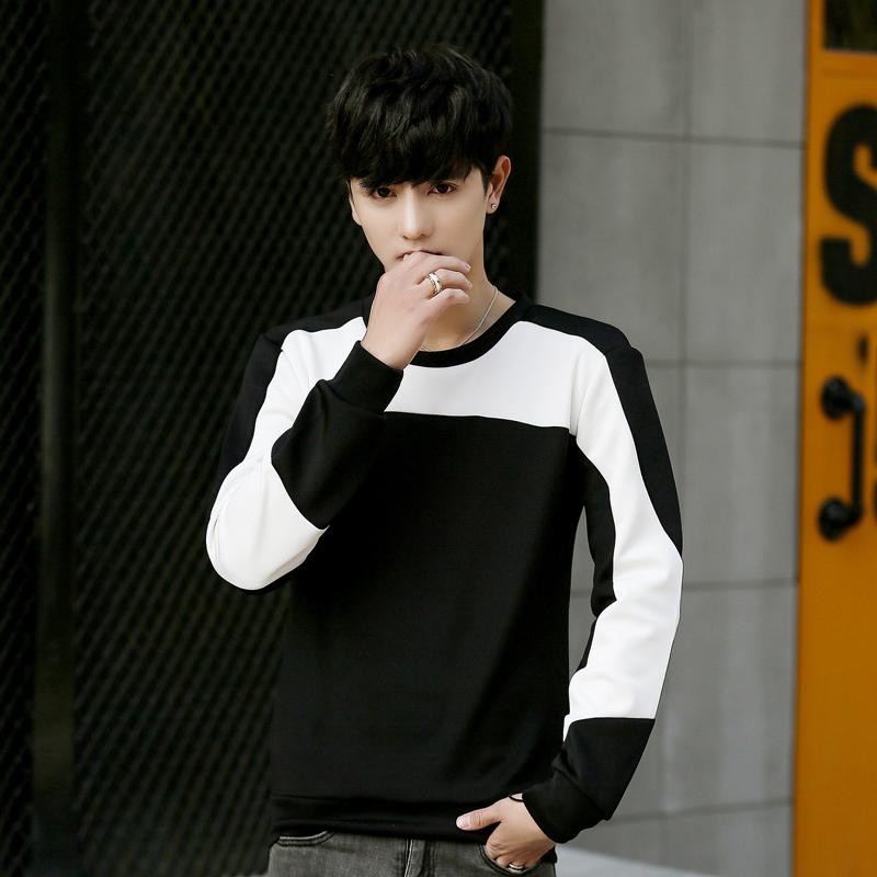 Mahasiswa Jepang Longgar Leher Bulat Pullover Sweater Pria Sweater Source · Flash Sale Kecil segar siswa muda pria jaket leher bulat pullover sweater Hitam