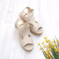 Bebbishoes-Olla Wedges Heels-Cream