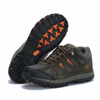KETA Sepatu Hiking Outdoor Sepatu Gunung KETA 427 - Hijau Orange - 5