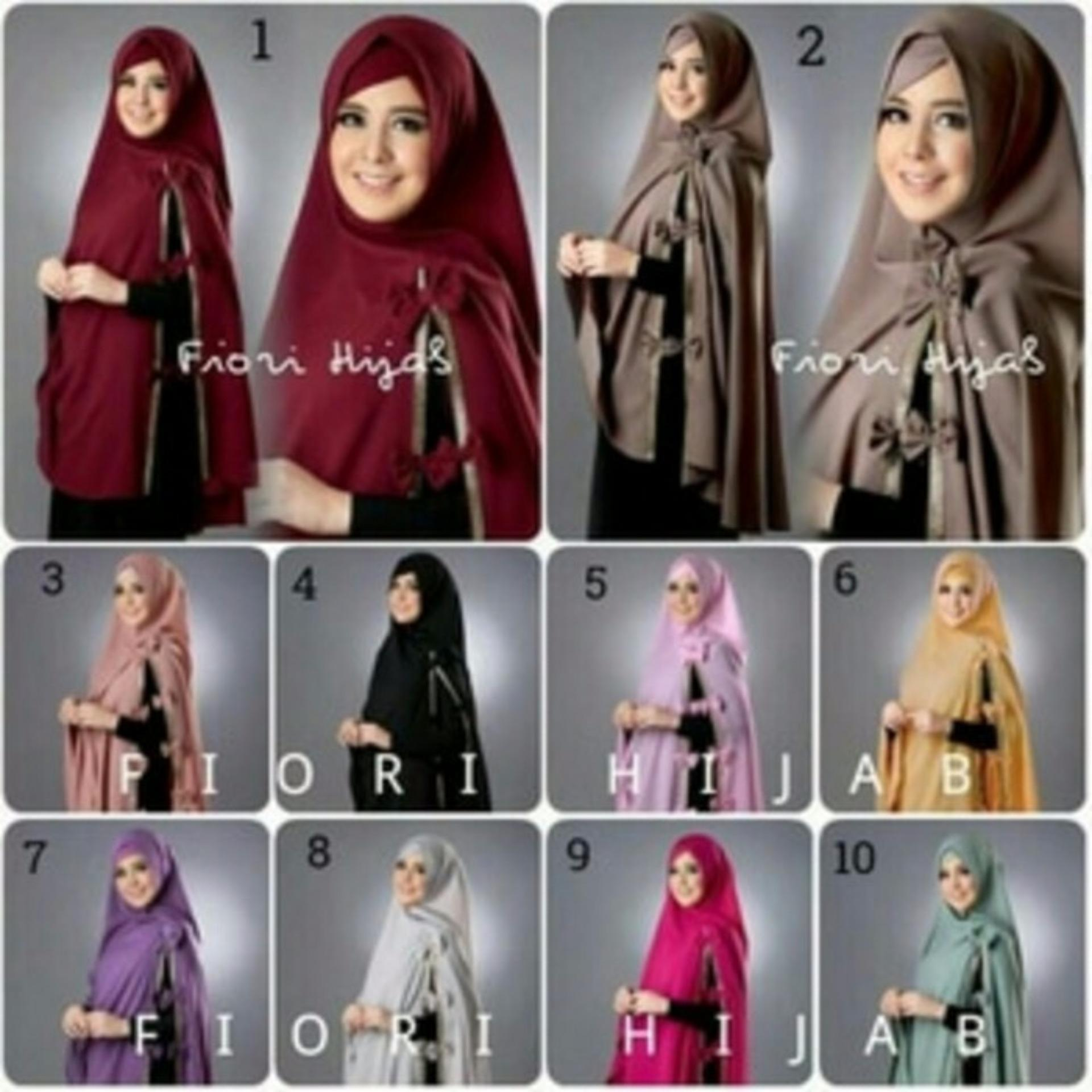 Flash Sale Khimar Fiory Risty Free Inner
