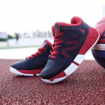Jual Kids Basketball Shose Sportwearablehigh Topprotectgift - Intl Murah