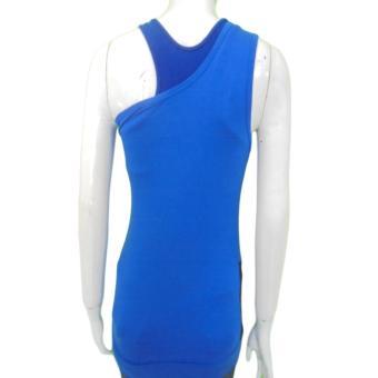 Harga Kira Sports Tanktop Baju Atasan Senam wanita Tanktop Baju Atasan Olahraga Wanita KSA1040417 Blu,