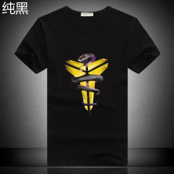 Kobe Bryant kasual logo olahraga basket t-shirt (Situs Dalam sihir)