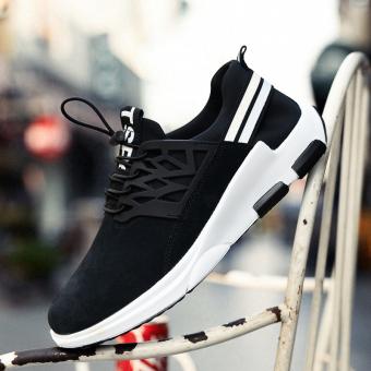 Jual Korea Fashion Style bernapas tren sepatu lari sepatu musim gugur sepatu  pria (Hitam) Online 08a13cc63f