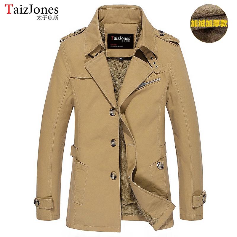 Korea Fashion Style kapas musim gugur dan musim dingin jaket pria Ditambah beludru .