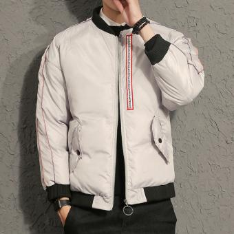 ... t-shirt Slim Pria lengan pendek t -. Source · Pencari Harga Korea Fashion Style laki-laki berlapis kapas jaket siswa laki- laki stand