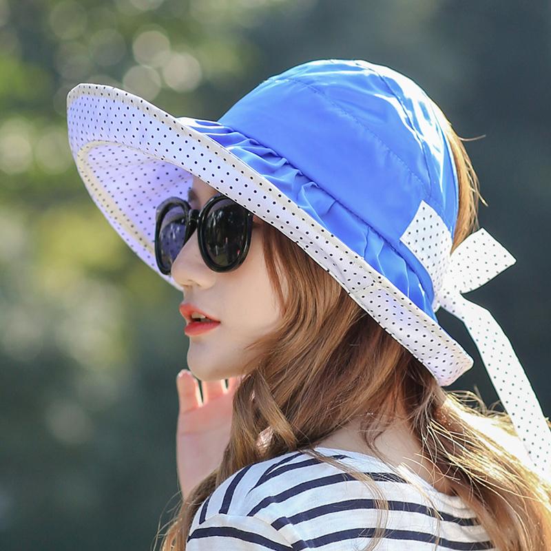 Flash Sale Korea Fashion Style musim gugur perempuan matahari topi matahari  topi dilipat topi topi ( c5ebd5473a