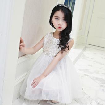 ... Periksa Peringkat Korea Fashion Style perempuan anak besar musim panas rok tutu gaun musim panas