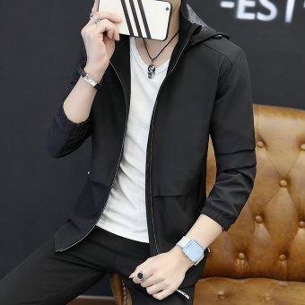 Jual Korea Fashion Style Pria Baru Slim Jaket Musim Semi