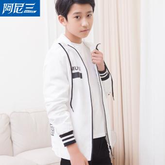 jual korea fashion style remaja laki laki dan musim gugur jaket putih di online