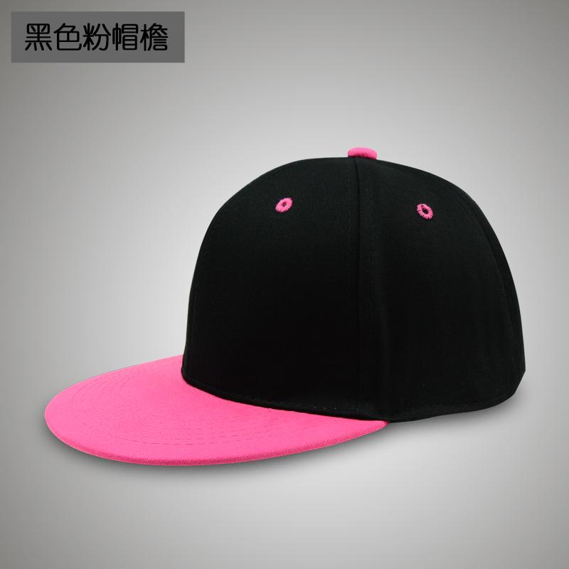 Korea Fashion Style semi dan musim panas topi topi baseball cap (B102 hitam bubuk topi