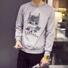Korea Fashion Style Tambah Beludru Tren Model Lebih Tebal Pullover Jas Baju Dalaman (Ditambah beludru