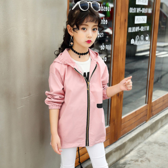 ... T-shirt (Mawar merah. Source · Flash Sale Korean-style long-sleeved mid-length children's coat autumn coat (