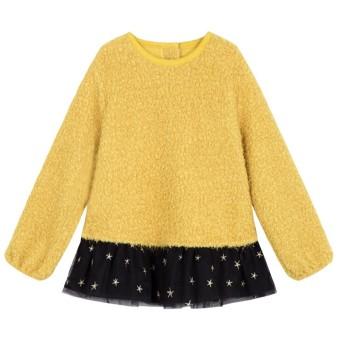Pelacakan Harga La Chapelle Jahitan Kain Kasa Gadis Lengan Panjang Sweater Hangat Kaos Sweater (Jiang Huang) Perbandingan harga