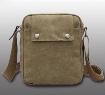 Leegoal Mutifunctional Bahu Laki-Laki Tunggal Crossbody Bag (Dril) -