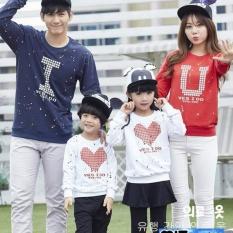 legiONshop-baju keluarga sweater keluarga baju family baju couple keluarga YES I DO navy maroon