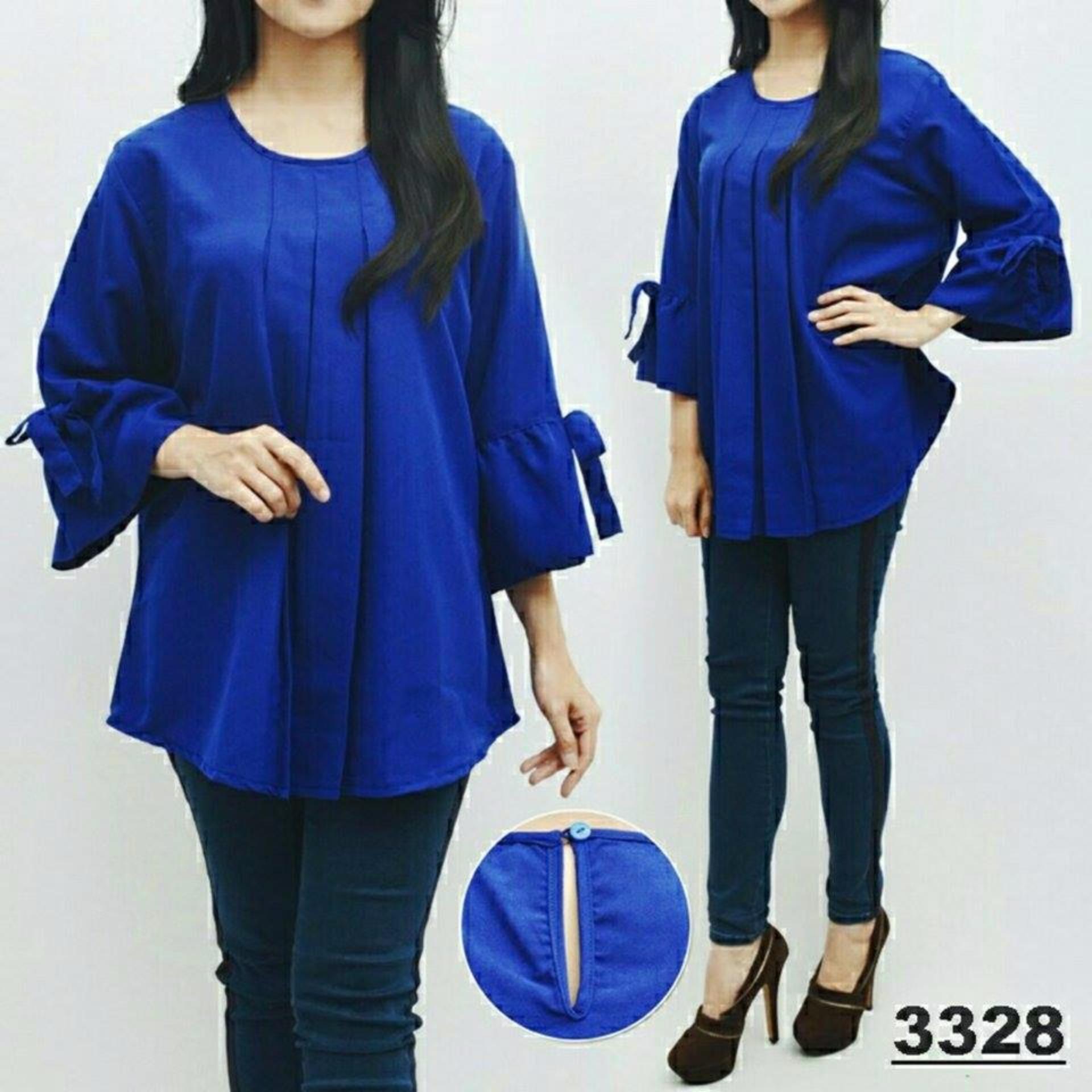 ... Flash Sale legiONshop blouse jumbo wanita baju ukuran besar pakaian jumbo wanita SALWA