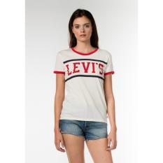 Levi's Perfect Ringer Tee - Sport Marshmallow