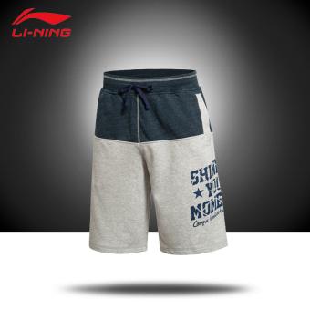 Gambar LINING AKSK073 semi dan baru seri basket merajut celana pendek pria  celana pendek (AKSK073 edad36d3c7