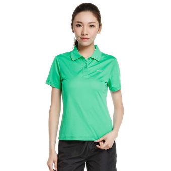 Jual LINING Aplj096 Nyaman Putih Perempuan Musim Gugur Dan Dingin T-shirt (Air jernih hijau APLJ096-5) Terpercaya