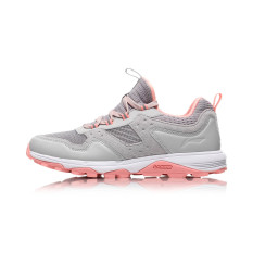 LINING baru memakai non-slip sepatu lari reflektif sepatu lari  (Mikrokristalin abu-abu 28e91a23db