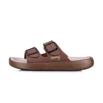 Jual LINING glsl001 rumah non-slip memakai sandal sendal (Clay brown/asap dupa aprikot) Terpercaya