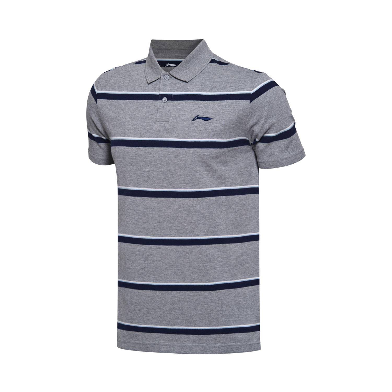 Katun Putih Lengan Pendek T Shirt Baru Kemeja Polo Daftar Baju Kasual Pria Abu Sht 776 Lining Seri Olahraga Bunga Kacang