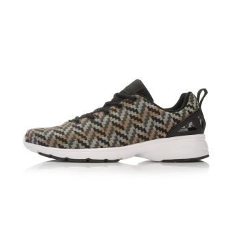 Jual LINING kebugaran sepatu sepatu pria sepatu olahraga (Hitam/malt kuning/Badai abu-abu/kerikil abu-abu) Online
