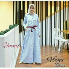 Long Dress / Gamis / Baju Menyusui Murah / Grosir Hijab : Virna Dress