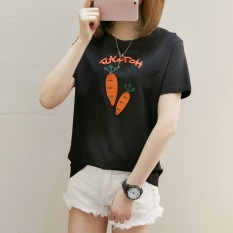 LOOESN indie female on the short sleeved t-shirt Korean-style Top (273