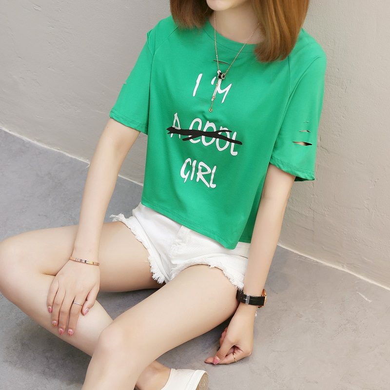 Flash Sale LOOESN Korean-style female New style student Top T-shirt (827