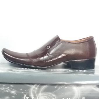 Harga Louis Visto sepatu pria formal kulit asli model LV 354 coklat Terbaru klik gambar.