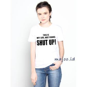 ID T-Shirt Cewek / Tumblr Tee / Kaos Wanita This Is My ...