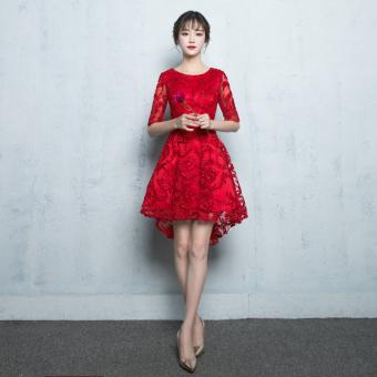 Dingin Baru Source Cari Bandingkan Gaya Cina Merah Mempelai Wanita Musim  Gugur Dan Source Harga Penawaran 792947e0cc