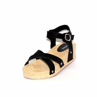 88997a5da1 Jual Marlee AC 15 Sandal Wedges Wanita Hitam Online Terbaik - yijtoko