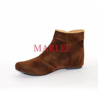 Gambar Marlee BKD 02 Sepatu Boots Wanita Coklat