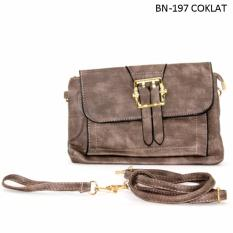 Marlee Clutch Impor BN-197 Brown