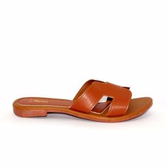 Marlee DN-18 Sandal Santai Wanita - Coklat - 4